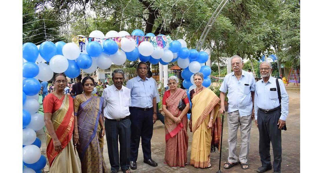 christmas celebration group photo