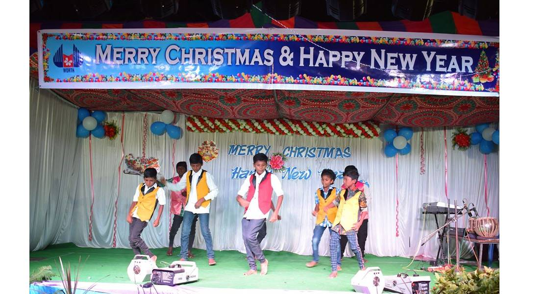 students group dance