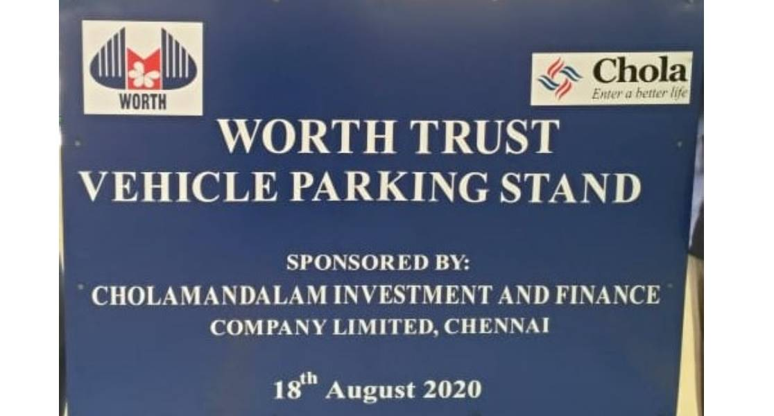 worth trust vehicle parking stand