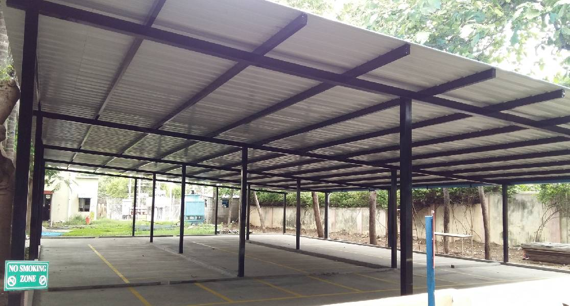 vechicle parking shed
