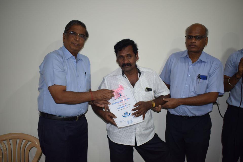 employee certificate distribution