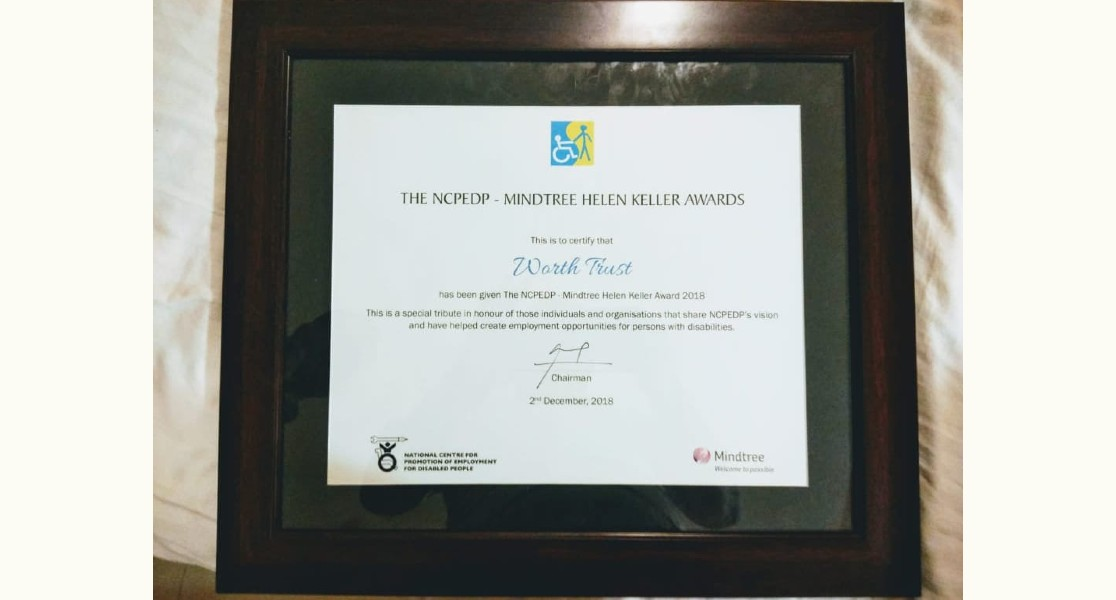 NCPEDP Helen Keller Award
