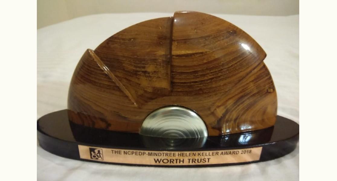 NCPEDP Hellen Keller Award Trophy