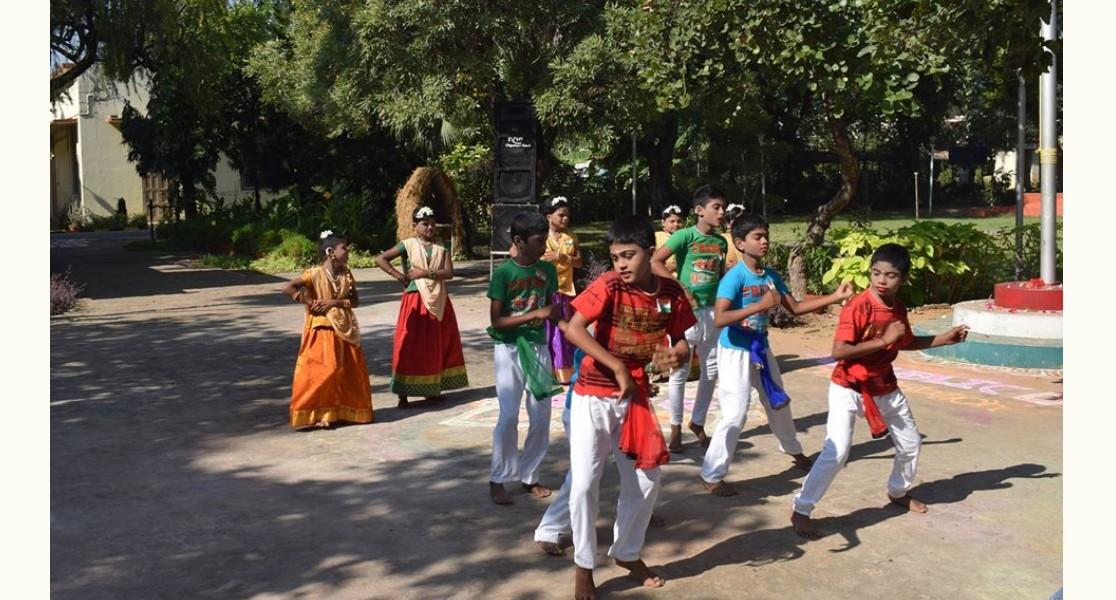 Folk Dance by our Kids